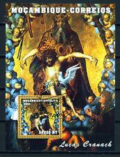 Mozambique Lucas Cranach Famous Painting 2001 Souvenir Sheet