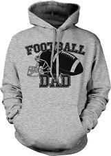 Football Dad Parent Father Daddy Child Kid Helmet Ball Team My Hoodie Sweatshirt