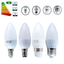 3W/5W E14 E27 B22 LED Chandelier Candle Light Bulb 2835 SMD  Home Lamp AC85-265V