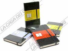 MOLESKINE COPERTINA RIGIDA - TACCUINO - 9x14cm - PLAIN/RULED/SQUARED