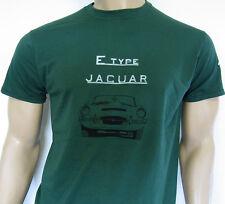 Jaguar E-type T-shirt - Serie 1, de 1 ½ Y 2-Classic Roadster Coupé XK-E 5 Tamaños