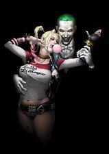 JOKER & HARLEY QUINN Suicide Squad Batman Art Print Picture Photo Poster A3 A4