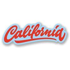 2 x California California Vinyl Sticker Laptop Travel Luggage #4394