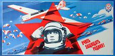 Russian Space Program Poster-la propagande soviétique ERA-Astronaute, rétro