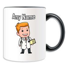 REGALO personalizzato medico TAZZA SALVADANAIO personalizzare nome ospedaliera NHS GP tazza di tè