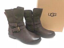 4b641a4d51b UGG Australia Womens Simmens Waterproof Leather BOOTS Black 1008439 ...