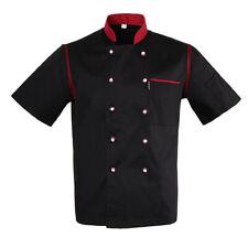 Blouse de Cuisinier Veste de Cuisinier Unisexe Manches Courtes