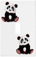 Baby Panda Bear Wallplate Wall Plate Decorative Light Switch Plate Cover