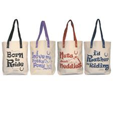 Horsey Girl Shopper Bag - Useful bag for grooming kit, show gear or shopping