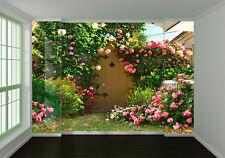 3D Blumen Garten Wiese 8093 Tapete Wandgemälde Tapeten Bild Familie DE Lemon