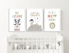 Scandinavian Nursery Prints / Pictures for Childrens Bedroom / Baby Room Decor