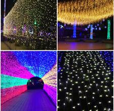 LED Fairy String Lampe 10m/30m/50m/100m Weihnachten Hochzeit Outdoor Party Decor