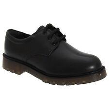 Roamers Boys 3 Eyelet Gibson School Shoes