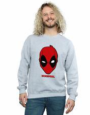 Marvel Hombre Deadpool Mask Camisa De Entrenamiento