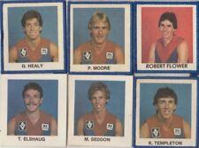 AFL  TEAM *MELBOURNE  , ROBERT FLOWER,P.MOORE,G. HEALY,K TEMPLETON,M SEDDON,T EL