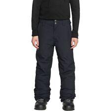 Boys' QUIKSILVER Estate Youth Snowboard Insulated Pants BLACK (kvj0) Ski Snow
