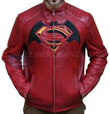Batman vs Superman Dawn of Justice Genuine Leather Cosplays Jacket