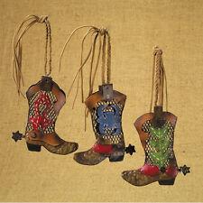 Cowboy Boot Ornaments