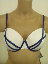 Bikinioberteil Playa Kontiki Sapph weiß/lila Bügel Bikini 75 – 85 B C D E-Cup