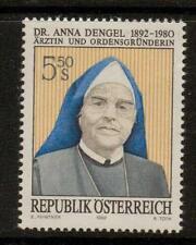 AUSTRIA SG2300 1992 CENTENARY OF DR ANNA DEGEL   MNH