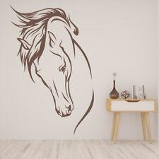 Paarden Hoofd Paard Muursticker WS-17458