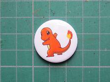 Charmander Pokemon Badge - 25/58mm Pin Badge Pokemon Go Cute Nerd Geek Gift