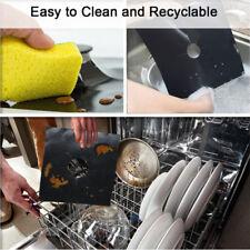4PC Non-Stick Gas Range Protectors Reusable Aluminum Foil Gas Stove Burner Cover