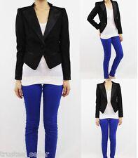 NWT JUICY COUTURE Womens Fashion Slim Fit Suit Tuxedo Stylish Blazer Jacket