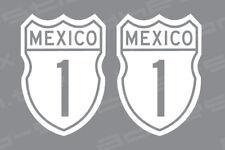 Baja Highway Mexico Vinyl Decal