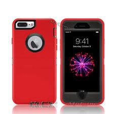 Apple iPhone 7 / 7 Plus Defender Case Cover (Belt Clip fits Otterbox series)