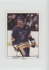 1982-83 Topps Album Stickers #198 Brian Sutter St. Louis Blues Hockey Card