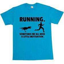 Running. Sometimes We Need Motivation Mens T-Shirt