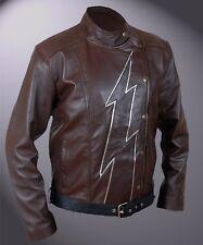 Flash Season 2 Jay Garrick Teddy Sears Barry Allen Brown Jacket