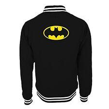 Logo Oficial De Batman - - Estilo De Béisbol Universidad Varsity Jacket