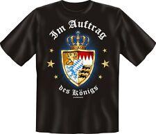 T-Shirt Wappen Bavaria Bayern Ludwig - Im Auftrag des Königs - Grösse S - XXXL