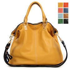 [Jaunty2030] New GENUINE LEATHER purse handbag TOTES SHOULDER Bag [WB1107]