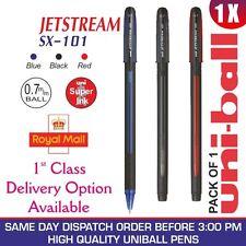 1 x Uni-Ball Jetstream sx-101 0.7mm Stylo à bille - Noir/Bleu/Rouge