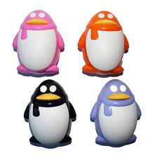 Kontaktlinsenbehälter Aufbewahrungsbehälter Etui Set Spiegel süße Pinguin NEU