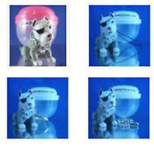 PIT BULL TERRIER #25 HOOD HOUNDS DOG FIGURE DANGLER KEYCHAIN LIGHT FAN LAMP PULL