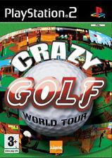 Crazy Golf: World Tour (PS2), muy bueno Playstation 2, Playstation 2 Video Juegos