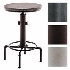 Metall Stehtisch LUMOS Holz Bartisch Hydrant Bistrotisch Tisch Industrie Design