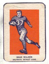 1952 Wheaties Football Card Doak Walker Detroit Lions (Action) VG/EX
