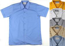 Aus Made Short Sleeve Deluxe School Shirt  Uniform Size 6-30