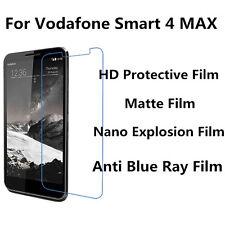 3pcs For Vodafone Smart 4 MAX High Clear/Matte/Nano Explosion/Anti Blue Ray Film