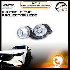 Eagle Eye 18mm Projector 3SMD LED Fog Light DRL Backup Signal - Amber Yellow 3K