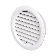 Ajustable Circle Air Vent cubierta de parrilla 100/125/150mm de conductos de ventilación cubierta