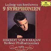 Beethoven: The 9 Symphonies (CD, Feb-1990, 5 Discs, Deutsche Grammophon)