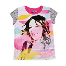 VIOLETTA t-shirt con manica in cotone multicolor varie taglie da bambina