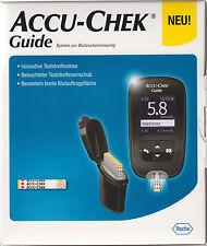 ACCU-CHEK guide zucchero nel sangue-Misuratore mmol/l PLUS 10-210 strisce di prova-NUOVO + OVP