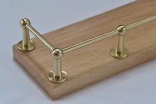 Solid Brass Fiddle Rail / Gallery Rail Parts - Prokraft FR Range